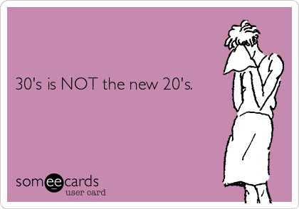 20 is not the new 30